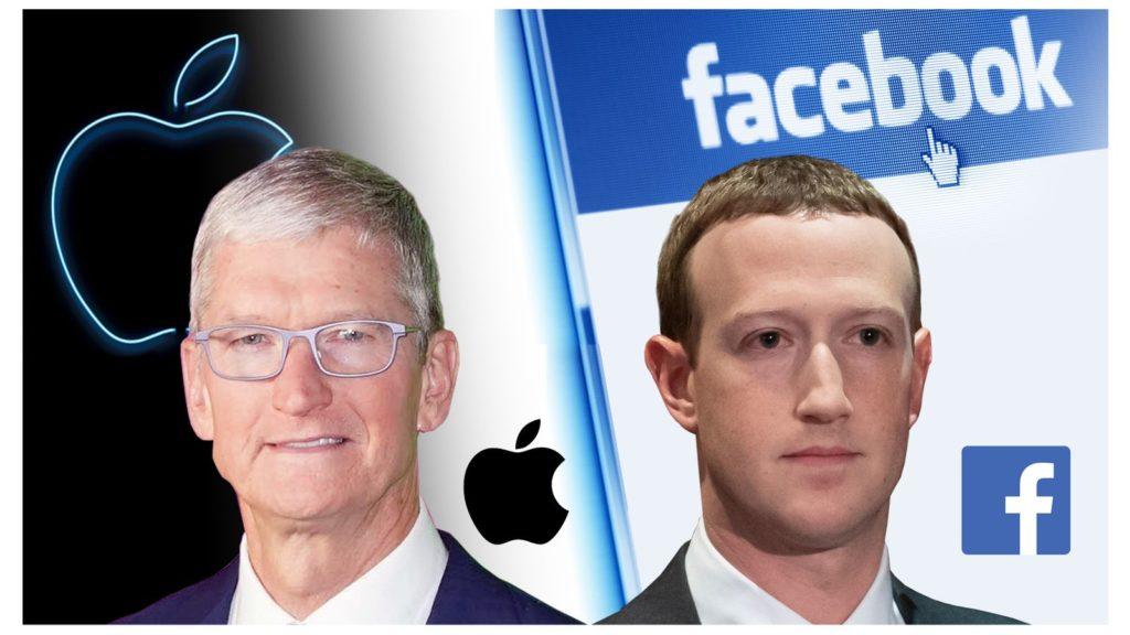 Guerre entre Facebook et Apple pour le contrôle des données sur les utilisateurs
