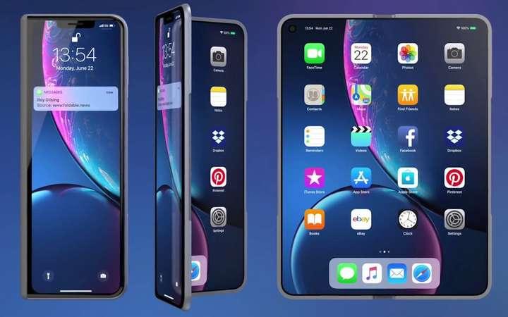 Apple:  Révélation sur de nouveaux modèles d'iPhones pliables