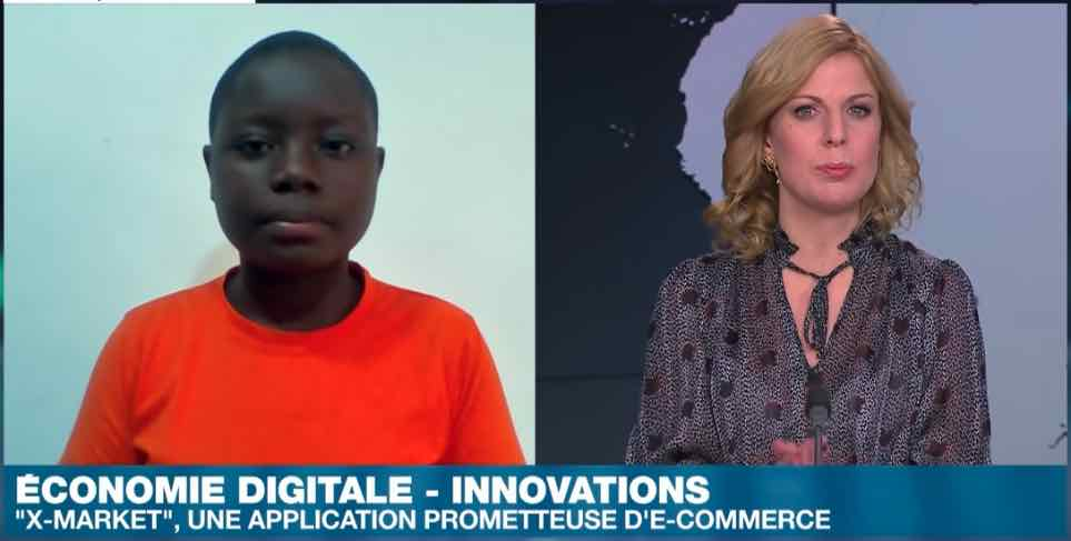 Cote d'ivoire : à 15 ans, elle crée une application pour gérer des boutiques ambulants