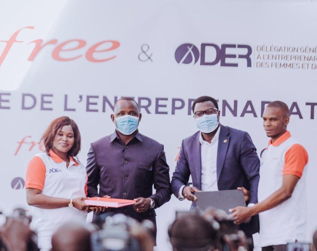 Kiosques multiservices : La DER et Free Sénégal  accompagnent 400 jeunes