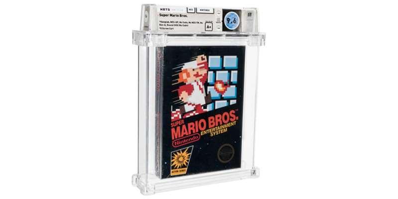 Gaming: Super Mario Bros vendu à 558.488 euros