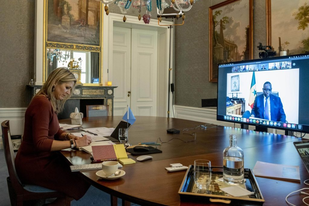 Le Président Macky SALL et la Reine Máxima des Pays-Bas lancent un appel en faveur des paiements numériques