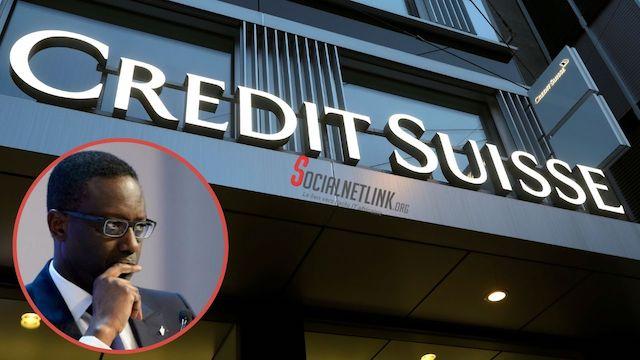 Crédit Suisse:  l'ancienne maison de Tidjane Thiam perd 4,7 milliards de dollars