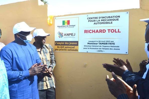 Entrepreneuriat : L'ANPEJ inaugure deux centres d'incubation à Richard Toll