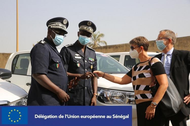 SENSEC-UE, un programme de 6,5 milliards de FCFA destinés à la Police nationale