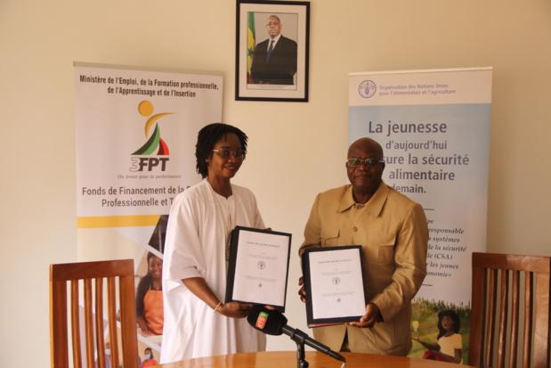 FAO- 3FPT: Près de 2 milliards FCFA pour la formation de  15.840 jeunes et la création de plus de 5.000 entreprises