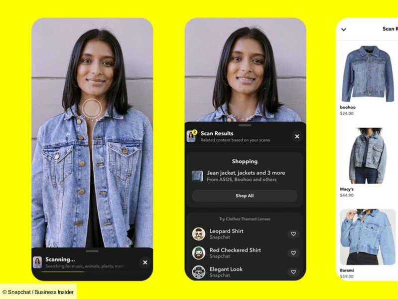 Snapchat va devenir une boutique mondiale en réalité augmentée
