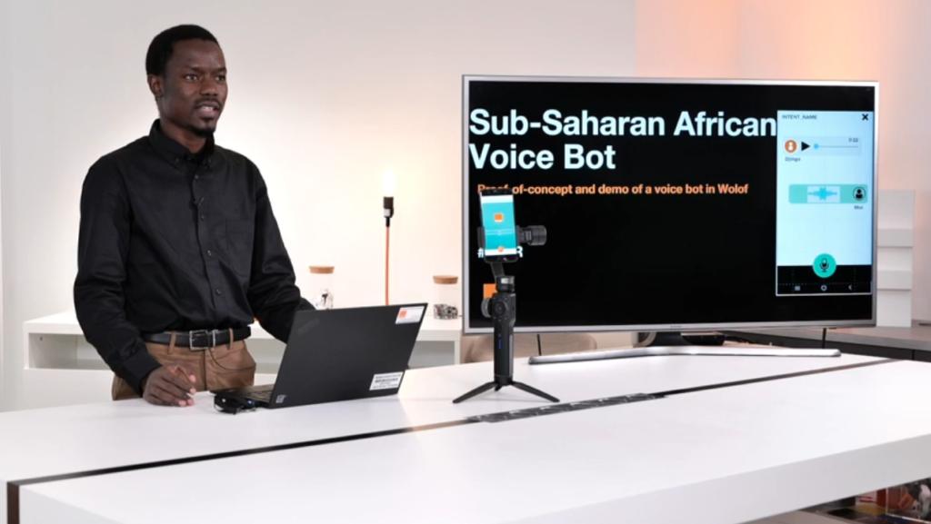 Orange: Papa Séga Wade, diplômé X-Télécom Paris, crée un voicebot en langue wolof