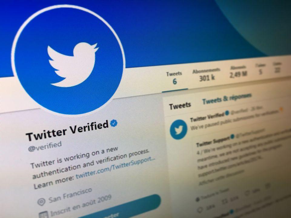 Twitter: Retour de la certification des comptes