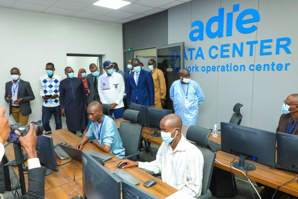 Inauguration du data center de l'ADIE par le Président Macky Sall -  Actualités technologiques en Afrique- Innovation et startup au Sénégal