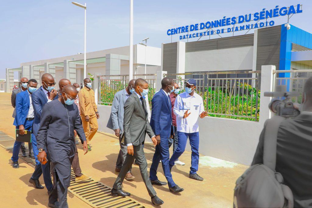 Inauguration du data center de l'ADIE par le Président Macky Sall