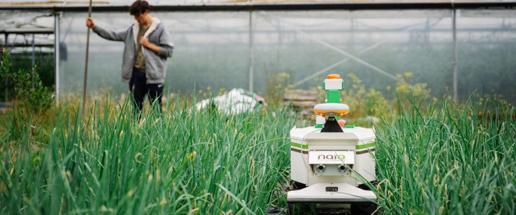 Les robots connectés de plein champ soulagent les agriculteurs