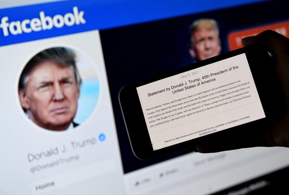 Le Conseil de surveillance de Facebook : l'arroseur arrosé