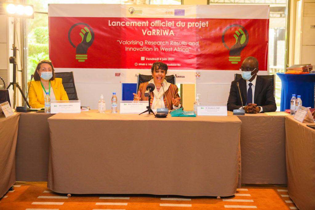 Lancement officiel VaRRIWA, un projet pour accompagner la valorisation des résultats de la recherche dans quatre africains