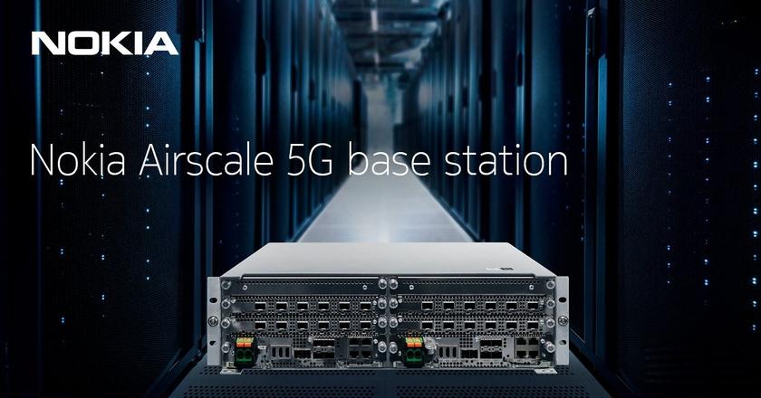 Nokia lance sa solution AirScale 5G de nouvelle génération optimisée par la technologie ReefShark