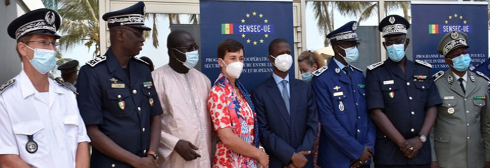SENSEC-UE: Les actions de l'UE orientées vers le renforcement des capacités des forces de défense et de sécurité