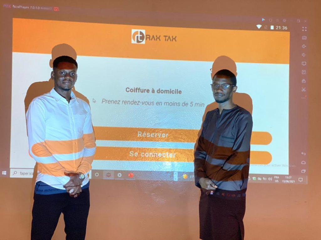 Sénégal : un jeune entrepreneur  lance Rak tak,  première application de soins de beauté