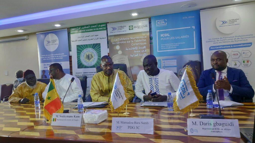 Numérique et enseignement coranique :  2000 pensionnaires du Daara Ahmed Sakhir Lô ont désormais accès à la Certification ICDL