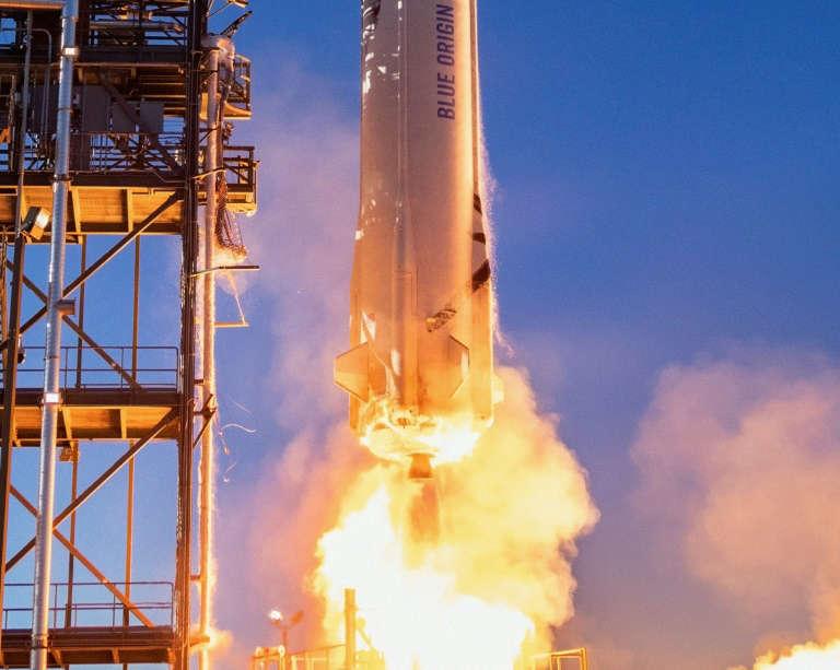 Jeff Bezos inaugure les voyages spatiaux de Blue Origin