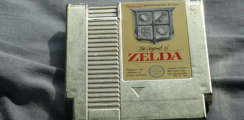 Jeu vidéo- The Legend of Zelda vendu à  plus de 730.000 euros