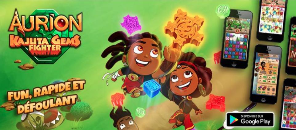 Kiroo Games lance Aurion KGF, le 1er jeu mobile d'Afrique francophone qui accepte le Mobile Money