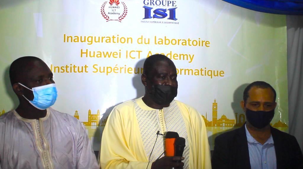 Formation standardisées : Huawei Sénégal équipe l'ISI d'un laboratoire ICT d'une valeur de 80 millions de FCFA