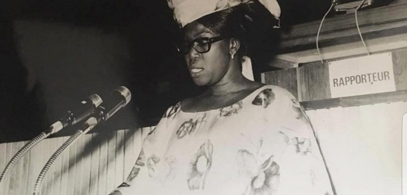 Première femme député-ministre du Sénégal : Caroline Diop, la voix de l'élite féminine