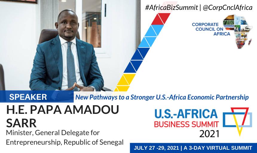 US-Africa Business Summit 2021 : la DER/fj, modèle africain en matière de soutien à l'entrepreneuriat féminin