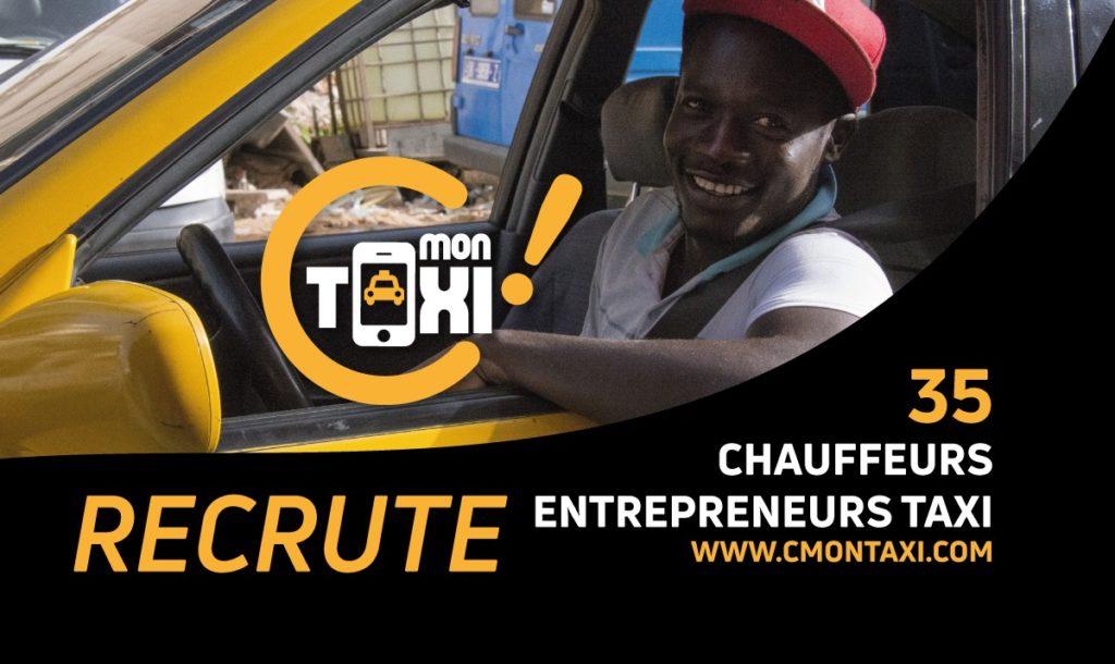C Mon Taxi recrute 35 chauffeurs-entrepreneurs taxi