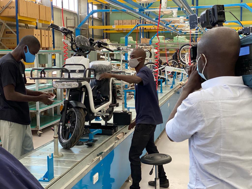 Des vélos électriques « Made In Senegal »