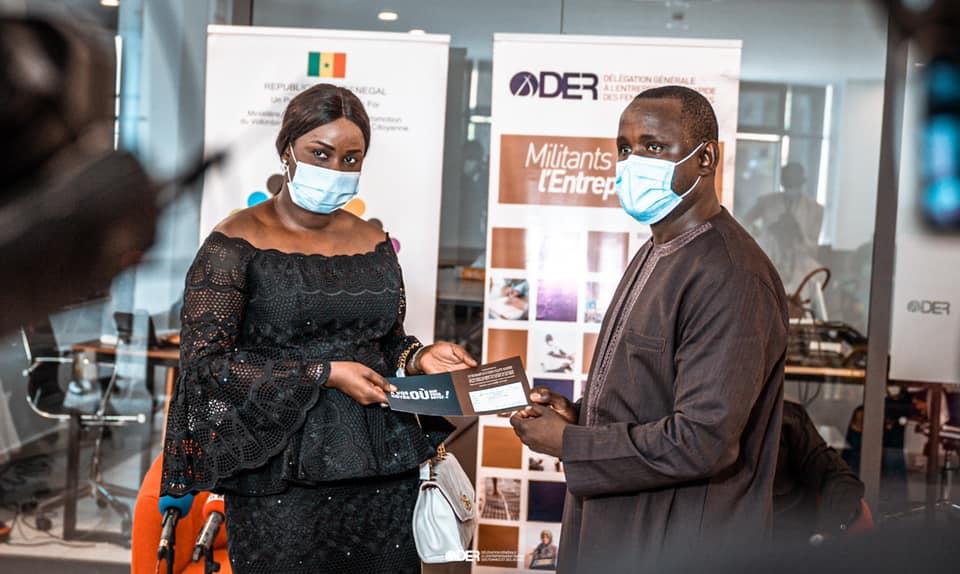 Entrepreneuriat: La Der/Fj alloue 500 millions à 269 porteurs de projets
