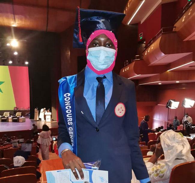 Fatoumata Diop, meilleure élève du Concours général: «Il n'y a que le travail qui donne satisfaction»