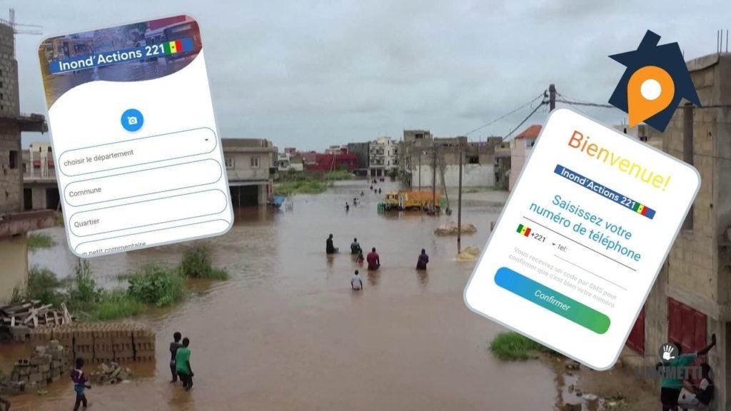 Inond'actions221, une nouvelle application de géolocalisation des inondations au Sénégal