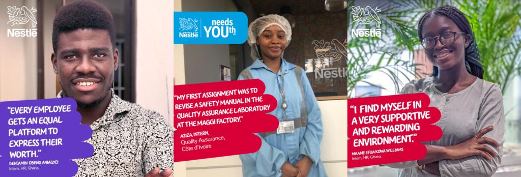 Nestlé lance Nesternship, un programme de stages rémunérés ouverts aux étudiants
