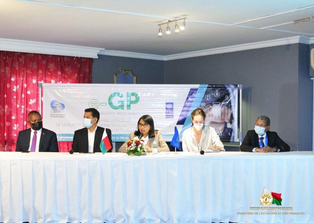 Le Madagascar lance e-GP pour améliorer le processus de passation et d'exécution des marchés publics