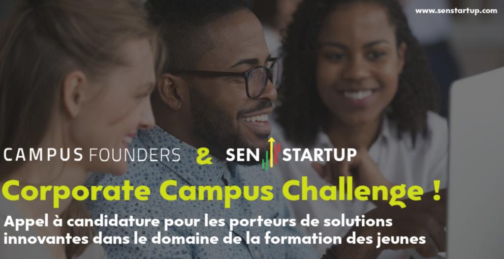 Formation pour les jeunes sénégalais: Sen startup lance le Corporate Campus Challenge