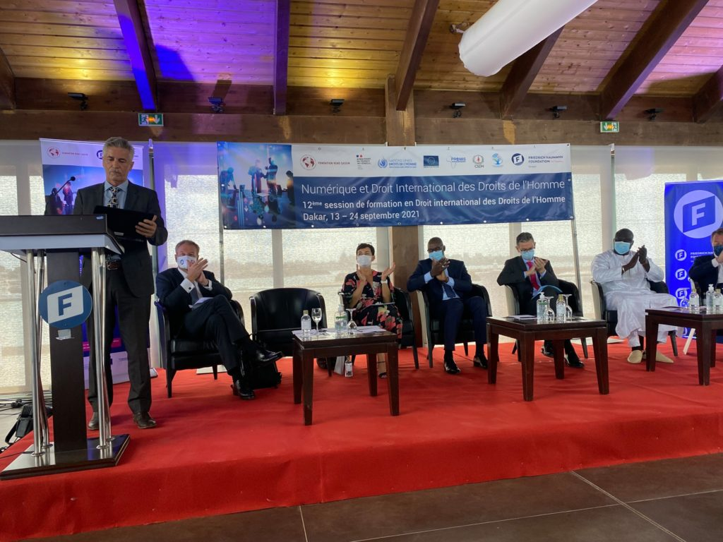 Ouverture à Dakar d'une formation sur le « Numérique et Droit International des Droits de l'Homme »