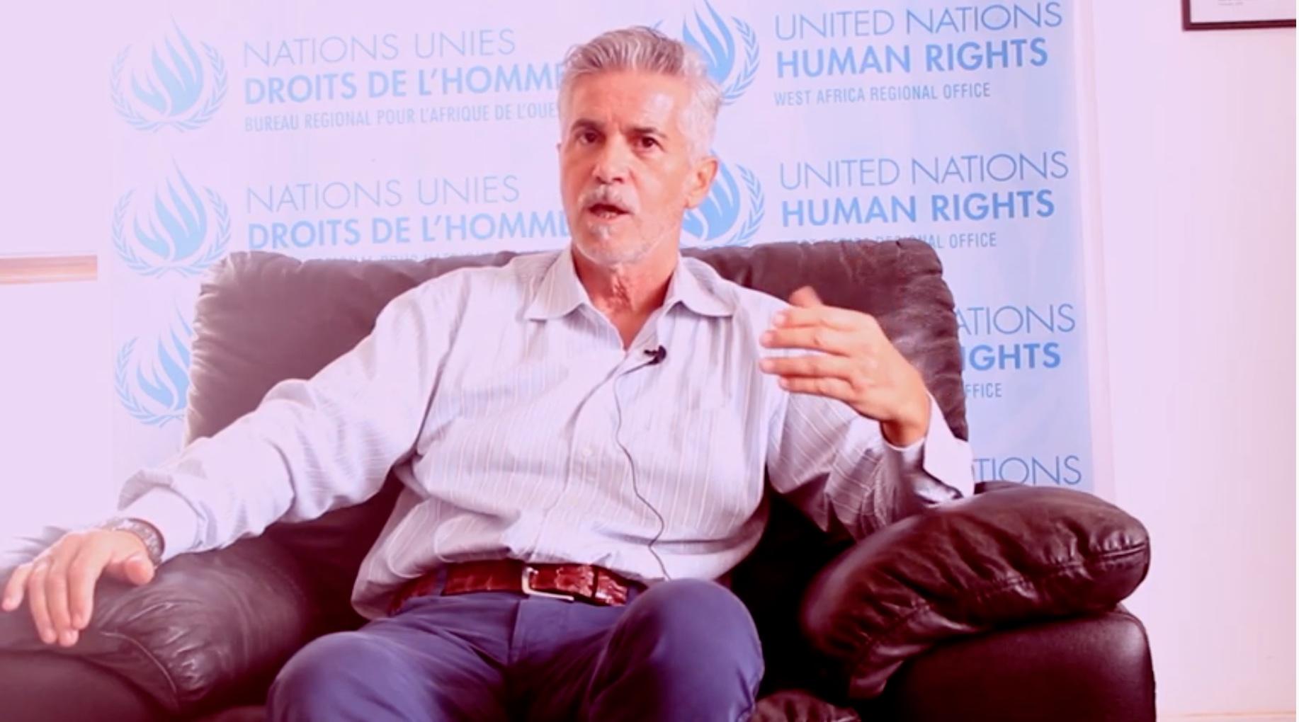 Andrea ORI, Directeur du Bureau Régional HCDH « l'obligation qui incombe aux Etats de protéger et de respecter les droits humains demeure et doit être renforcée à l'ère du numérique»