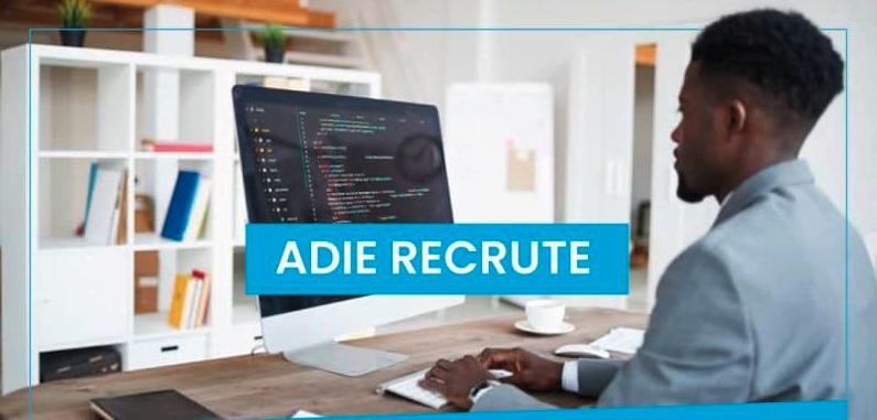 L'ADIE recrute un  Web Designer